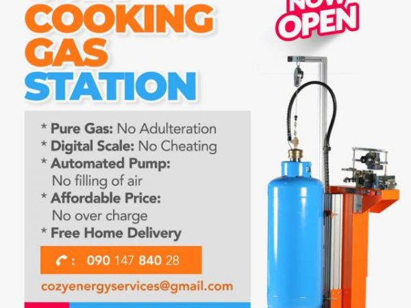 Cozy Cooking Gas and Errands services